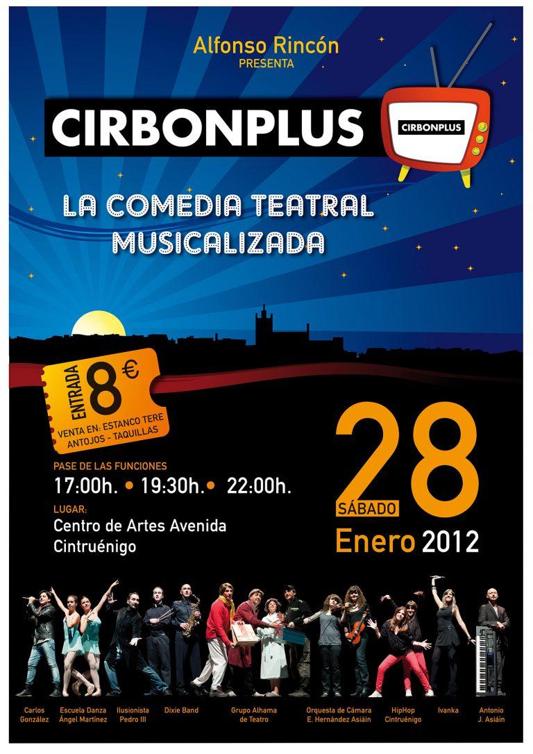 Cartel del espectáculo 'Cirbonplus'