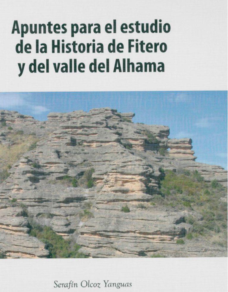 'Apuntes para el estudio de la historia de fitero', anverso