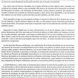 'Apuntes para el estudio de la historia de fitero', prólogo 2 de Jorge Fernández Díaz (ex-ministro de Interior)