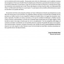 'Apuntes para el estudio de la historia de fitero', prólogo 3 de Jorge Fernández Díaz (ex-ministro de Interior)