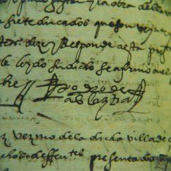 Investigaciones de Fundación Navarra Cultural - Fragmento de un manuscrito