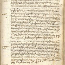 Investigaciones de Fundación Navarra Cultural - Página de un escrito de la época