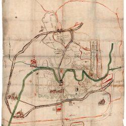 Investigaciones de Fundación Navarra Cultural - Mapa de la situación del bajo Alhama