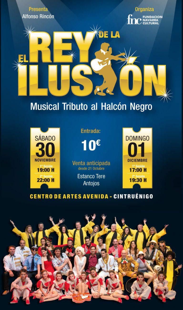 Cartel del Musical 'El Rey de la ilusión'