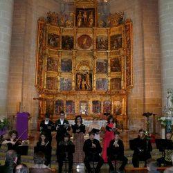 'Concierto de música Sacra', presentación
