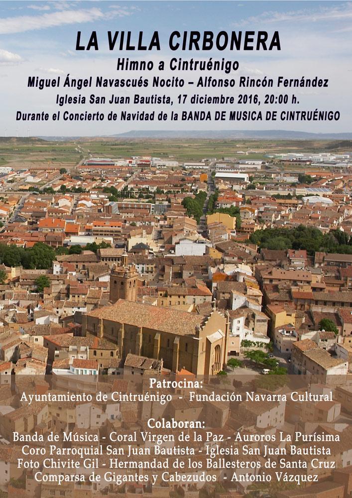 'Himno a Cintruénigo', cartel