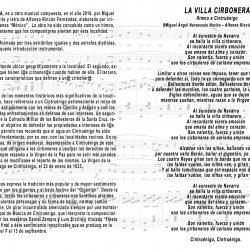 'Himno a Cintruénigo', guión