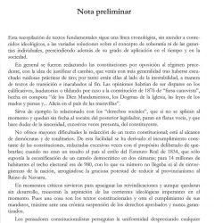'Constitución o Fueros' nota preliminar 1