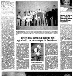 Premios Magazine Local 2001, reseña en prensa