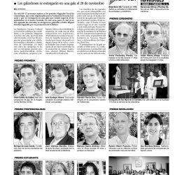 Premios Magazine Local 2003, reseña en prensa